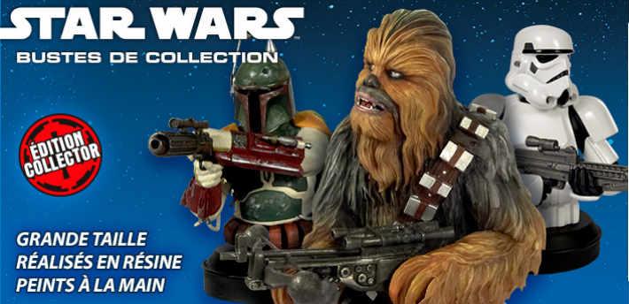 Collection bustes Star Wars en miniature Altaya