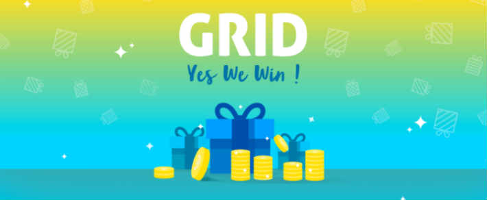 Grid loterie gratuite appli pour gagner argent et cadeaux sans arnaque