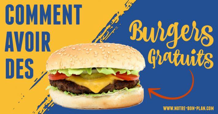 Comment avoir des burgers gratuits?