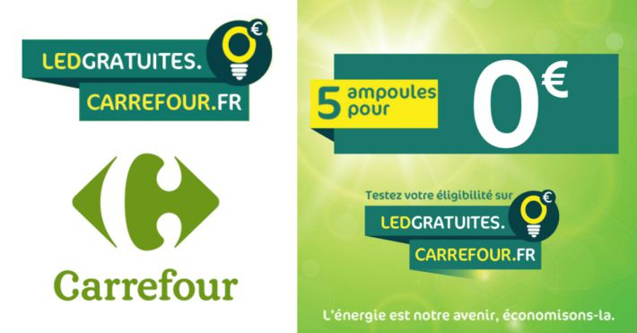 carrefour 5 ampoules led gratuites. Black Bedroom Furniture Sets. Home Design Ideas