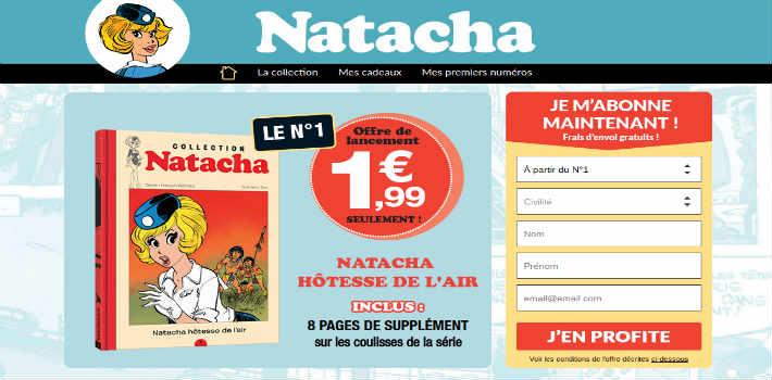 www.collection-natacha.com - Hachette Collections Natacha
