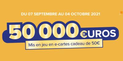 Jeu code le mois Carrefour.com