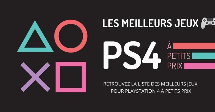 Liste des jeux PS4 Playstation HITS pas cher