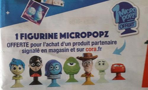 Figurines micropopz Pixar Cora à collectionner