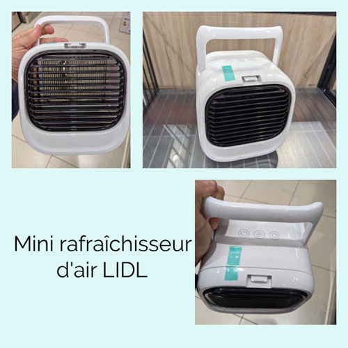 Mini Rafraichisseur d air Silvercrest vu en magasin Lidl