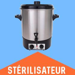 Aldi.fr Stérilisateur de conserves QUIGG Aldi 2020